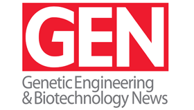 logo, Genetic Engineering & Biotechnology News