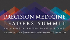 logo, Precision Medicine Leadership Summit